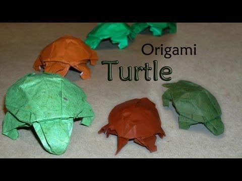 Origami Turtle by Robert J Lang