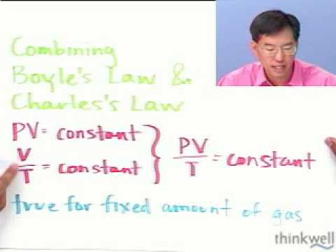 The Combined Gas Law from Thinkwell Chemistry
