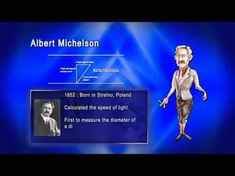 Top 100 Greatest Scientist in History For Kids(Preschool) - ALBERT MICHELSON