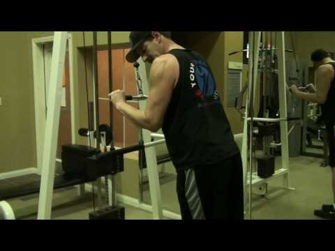 Triceps Extension w Straight Bar (Cabe)(2)
