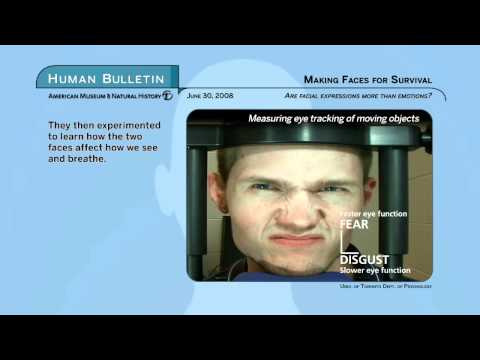 Science Bulletins: Making Faces for Survival