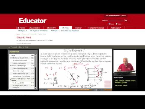 Physics: Electric Field (Surface Charge Density)
