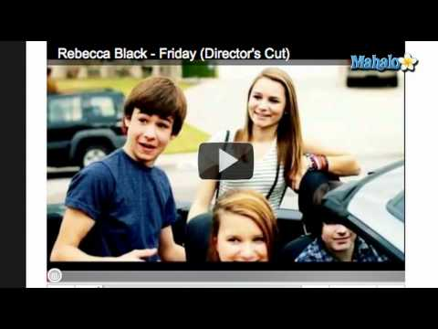 "Rebecca Black's ""Friday"" Removed From Youtube"