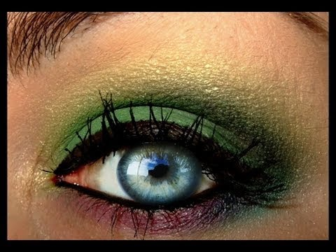 Tropical Paradise make up inspired look