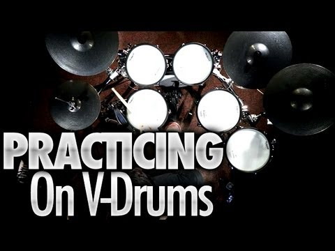 Practicing On V-Drums - Drum Lessons