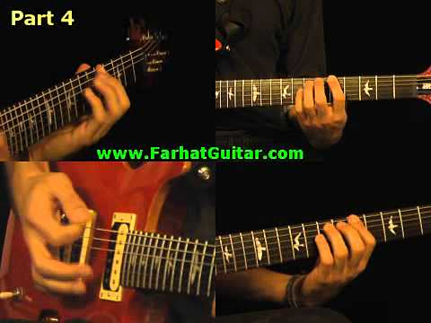 Satisfaction - Rolling Stone Guitar Cover Part 4 www.Farhatguitar.com