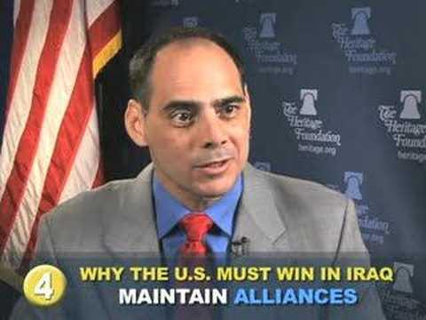 Why the U.S. Must Win in Iraq