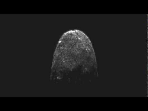 Updated Radar Movie of Asteroid 2005 YU55