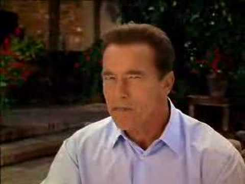 Schwarzenegger Campaigns Against Big Govt. Labor Unions