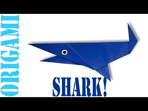 Origami Daily - 359: Shark - TCGames [HD]