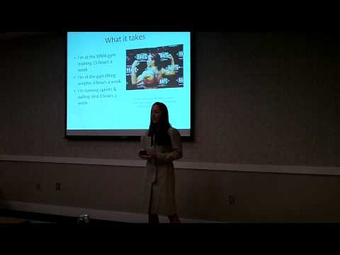TEDxMyrtleBeach - Jordan McDonald - Women in Mixed Martial Arts.MOV