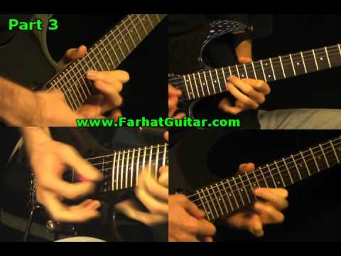 Run to the Hills Guitar Cover Iron Maiden Part 3