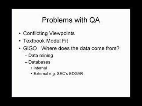 Quantitative Methods Intro