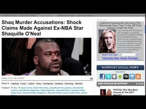 Shaq's Murder Lawsuit