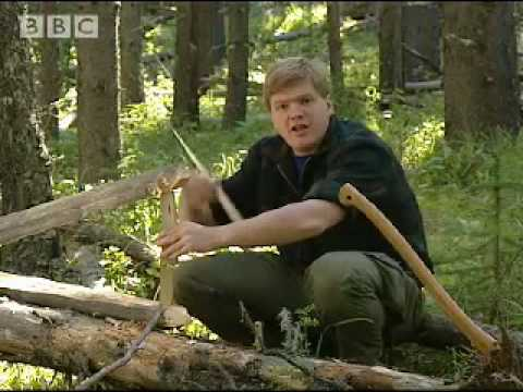 Squirrel Trap & Hobo-Fishing - Ray Mears Extreme Survival - BBC