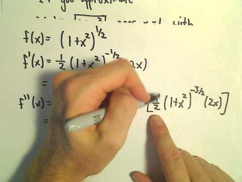 Taylor's Remainder Theorem - Finding the Remainder, Ex 2
