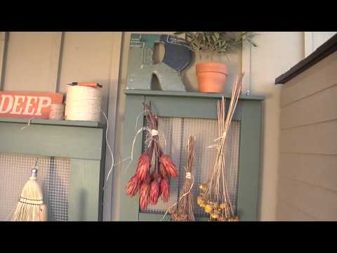 Organizing a Gardening Workspace with Sheds