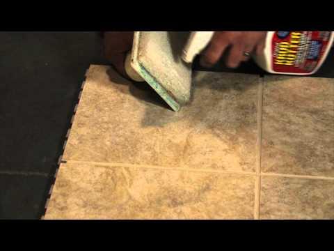 SnapStone Porcelain Tile Installation - Remove Grout Haze - Krud Kutter