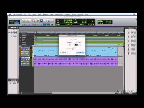 Pro Tools: Understanding samples and ticks | lynda.com