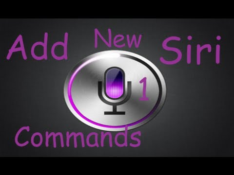Siri Tweak Add Voice Commands With VoiceUtils