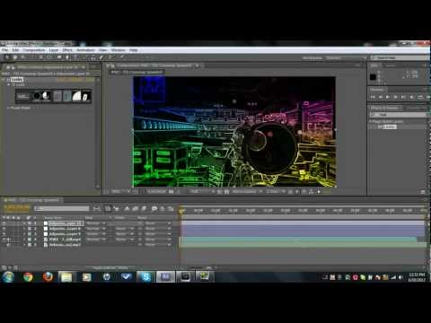 Rainbow CC // AE Tutorial // by iGraveYard