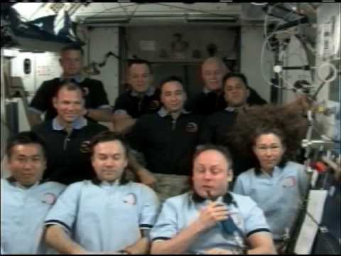 President Obama Speaks to Shuttle and Station Crew Members - Part 3