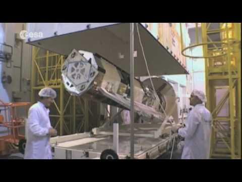 Preparing GOCE for space