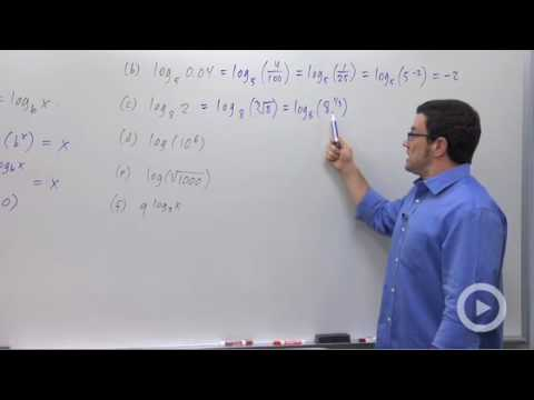 Precalculus - Properties of Logarithms