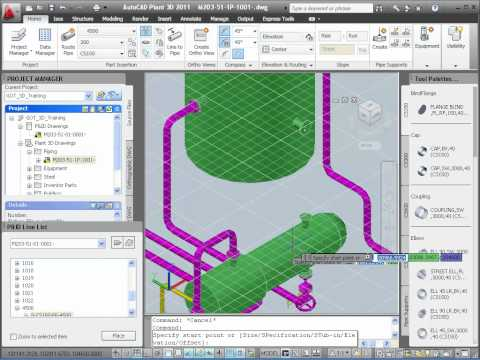 P&ID Data in AutoCAD Plant 3D