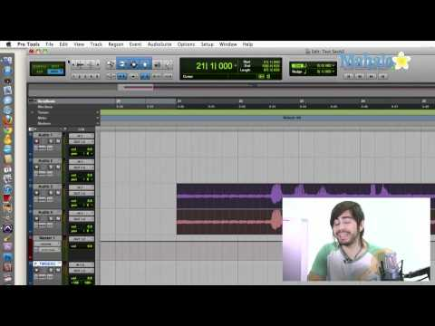 Placing Regions In Tracks - Pro Tools 9