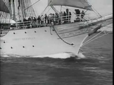 Universal Newsreel Volume 30, Release 45: Atomic Testing, Norwegian Sailing Ship05/30/1957