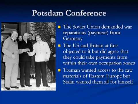 Schmidt Notes - US History - Unit 7 - The Cold War Begins (Chapter 18.1)