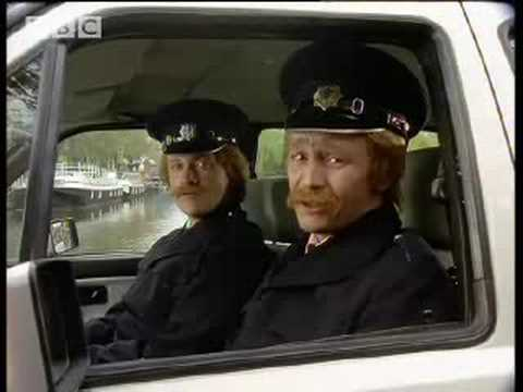 Police in Amsterdam - Harry Enfield and Chums - BBC comedy