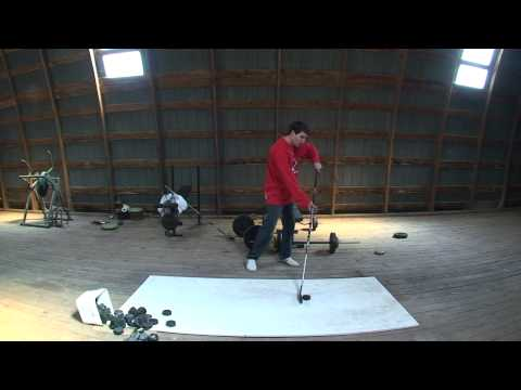 Wrist Shot - Learn How to Take a Wrist Shot in Under a Minute! FOR BEGINNERS