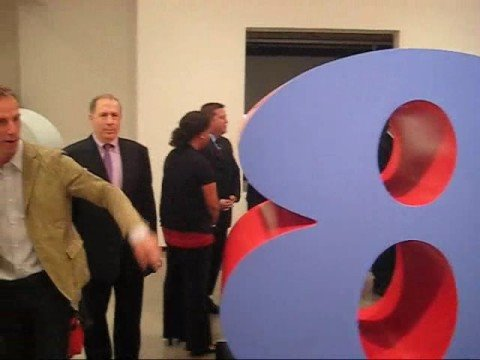 Robert Indiana Hard Edge at PAUL KASMIN Gallery
