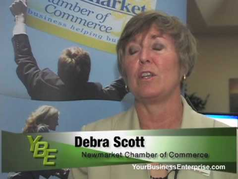 Why join a Chamber of Commerce, Debra Scott, Newmarket