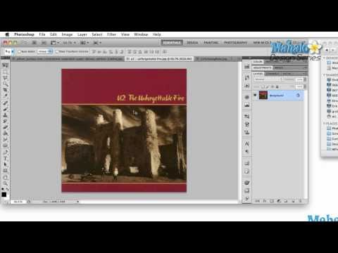 Photoshop Tutorial - Logo Case Study - U2
