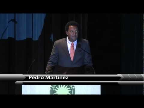 Pedro Martinez, portrait presentation ceremony, National Portrait Gallery