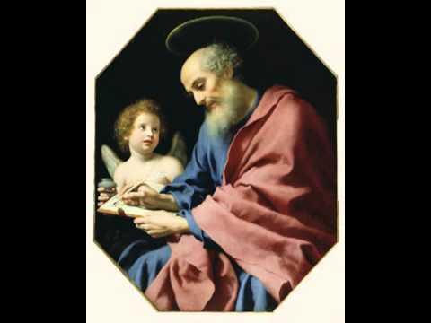 St. Matthew Writing His Gospel, Carlo Dolci