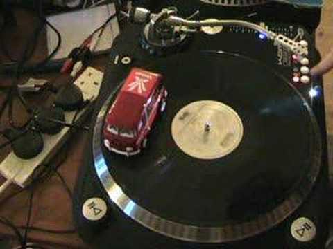 The VW vestax mini van , It Plays vinyl!