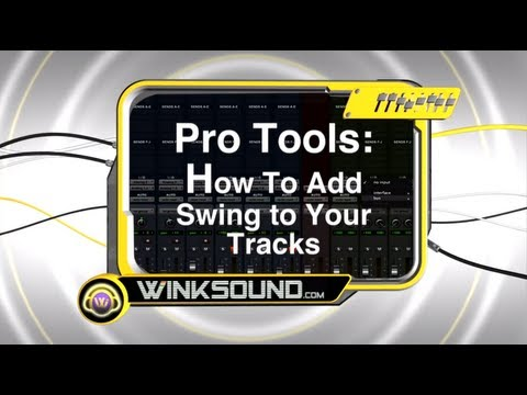Pro Tools: How To Add Swing to Your Tracks