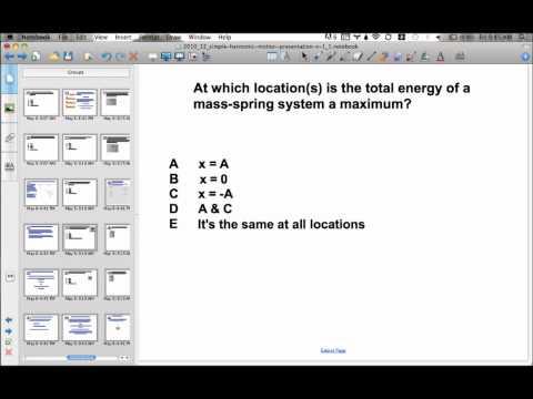 Simple Harmonic Motion Presentation #19