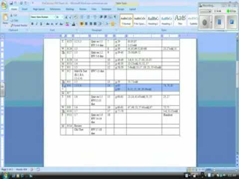 PreCalc 16 Notes 91109