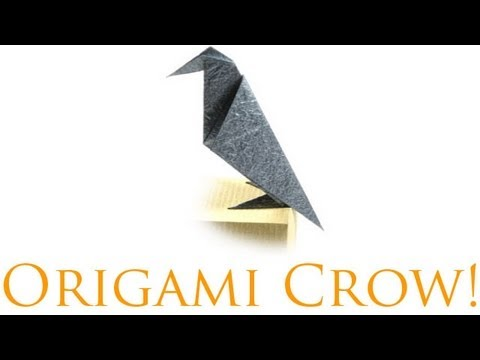 Origami Daily - 387: Crow - TCGames [HD]