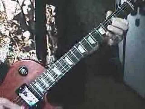 "Original Electric Guitar Solo: ""Into Thin Air"""
