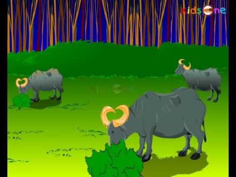 Yalk and Tiger - Hindi Animated Stories - Kids Animated Stories