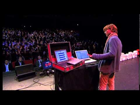 TEDxRotterdam - Giel Beelen - Music and controversy will lead the future