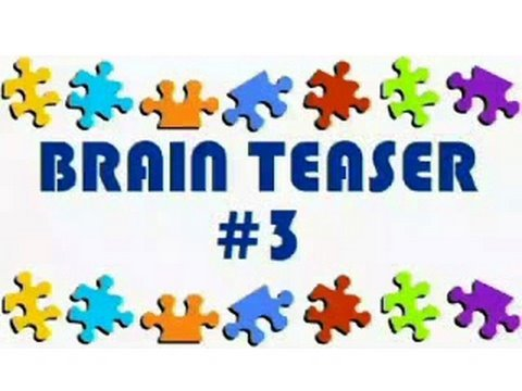 Video Brain Teaser #3
