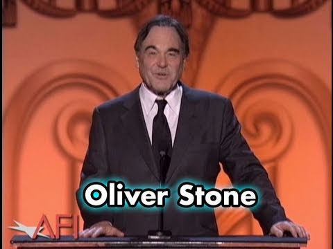Oliver Stone Salutes Michael Douglas at AFI Life Achievement Award