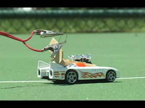 Rocket Powered Matchbox Cars!